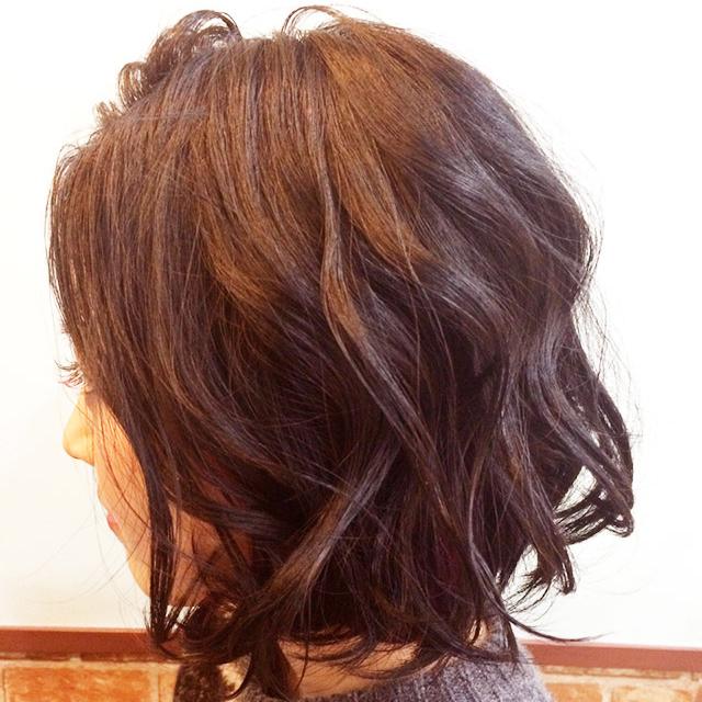 可愛さも捨てがたい'色っぽ可愛い髪'_横