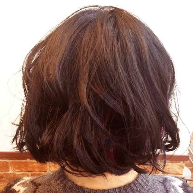 可愛さも捨てがたい'色っぽ可愛い髪'_後ろ