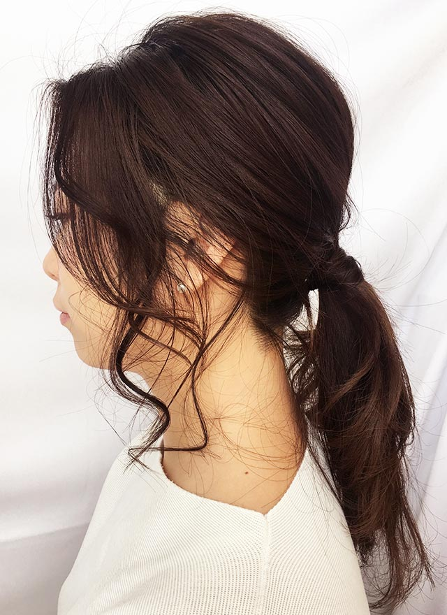 ふんわり大人の色気が滲み出る'ゆる髪'_横