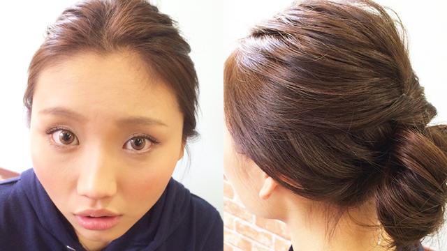 髪型のお色直し!?お昼から夜にかけて変化するヘアアレンジ