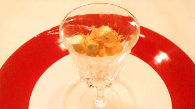 ヤセごはんレシピ!脂肪の吸着を阻害!「クリームチーズの和風アンティパスト」