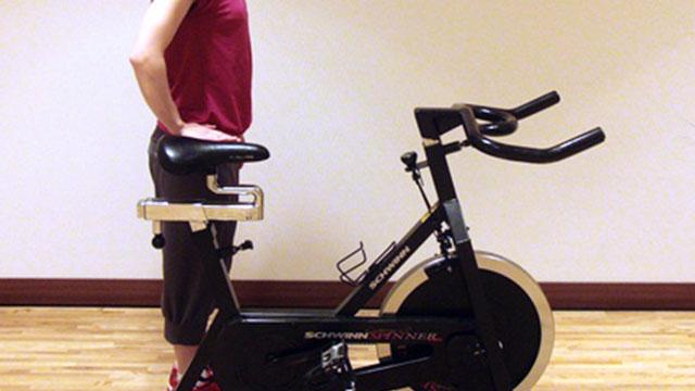 正しい自転車の乗り方、姿勢