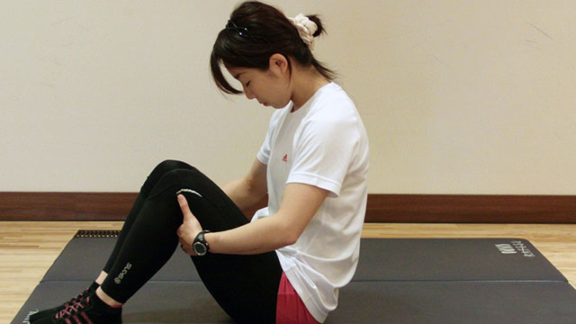 卵型〜お腹のトレーニング〜