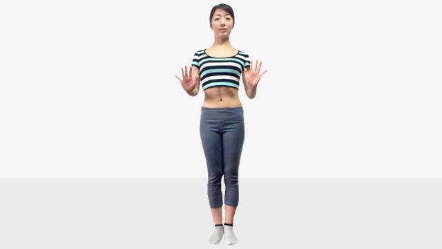 脚を長く見せるために鍛えるべき筋肉「�B腹斜筋エクササイズ」
