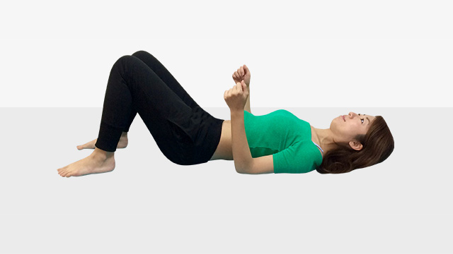 眠っている筋肉を目覚めさせて代謝UP!トレーニング「�B筋肉ほぐして代謝アップエクササイズ」