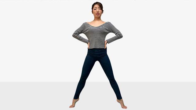 日本人体型から外国人モデルのようなスタイルを手に入れる方法/�B脚編