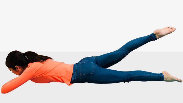 オトナ女子の360度美脚エクササイズ「�C適度についた筋肉が女らしい!美・裏ももエクササイズ」
