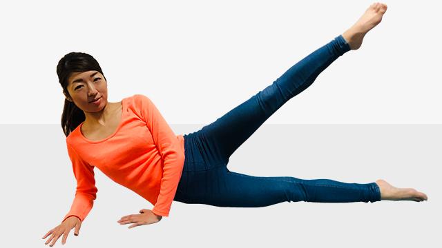 オトナ女子の360度美脚エクササイズ「�D足の間ゆるくない!美・内ももエクササイズ」
