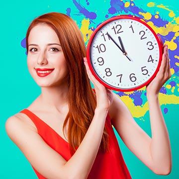 体内時計をリセット!リズムを整えて太りにくい体に