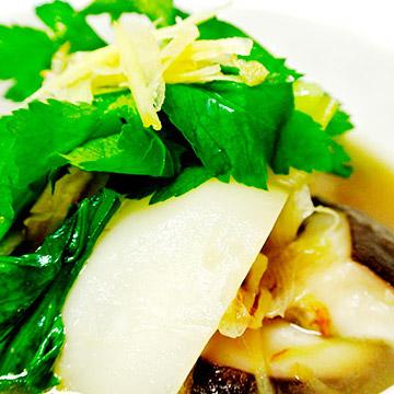 生姜と鶏肉のほっとするスープ