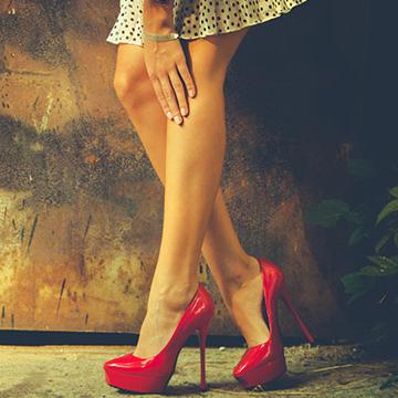 男性がNGだと思う女性の脚7パターン|健康美人