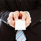 名刺交換の最大のマナーは 「自分の名刺を切らさないこと」です