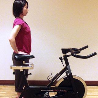 正しい自転車の乗り方、姿勢|健康美人
