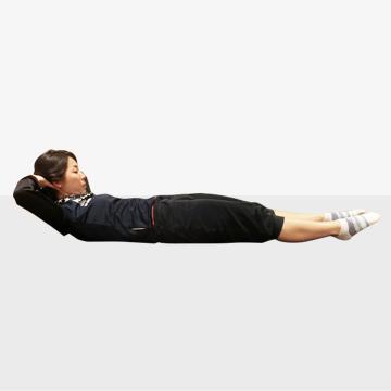 10秒でできる!お腹がへこむ体幹トレーニング/ワンレッグレイズ
