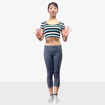 脚を長く見せるために鍛えるべき筋肉/�B腹斜筋エクササイズ