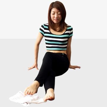 下半身太りの原因にもなる偏平足・外反母趾を治して真の美脚に♪「その�A」
