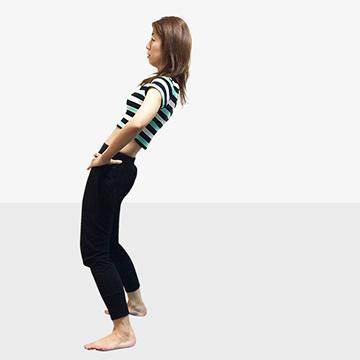目指すは服の1サイズダウン!見た目で効果が実感できるエクササイズ「�B全身引き締め」