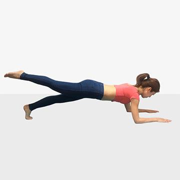 夏にかける女のダイエット強化月間!運動編「1ヶ月で痩せるためのトレーニングメニュー�@プランク」