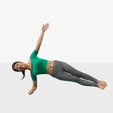 身体が軽くなる♪芯からキレイをつくる体幹トレーニング「�A中級編」