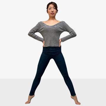 日本人体型から外国人モデルのようなスタイルを手に入れる方法「�B脚編」