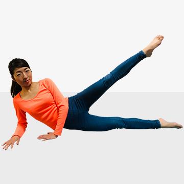 オトナ女子の360度美脚エクササイズ�D足の間ゆるくない!美・内ももエクササイズ